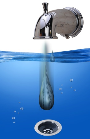 Water Dripping  photo