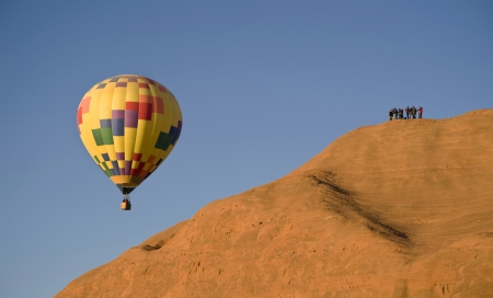 Hot Air Balloon at Gallup,New Mexico  photo