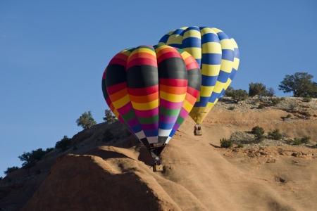Hot Air Balloons at Gallup,New Mexico  photo