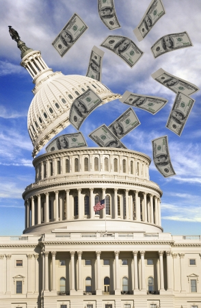 Washington Money Spending Stock Photo - 16840706