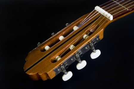 Guitar Neck Stock Photo - 17311140