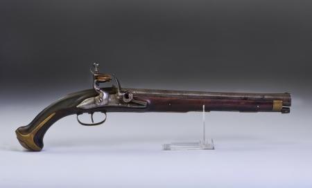 heirlooms: Francese a pietra focaia pistola realizzato intorno al 1800 Archivio Fotografico