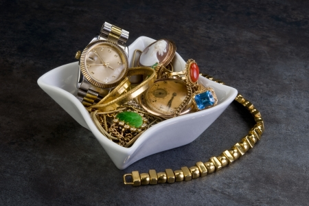 Scrap Gold and Jewelry. photo