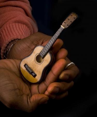 Guitar Man. Stock Photo - 18683846