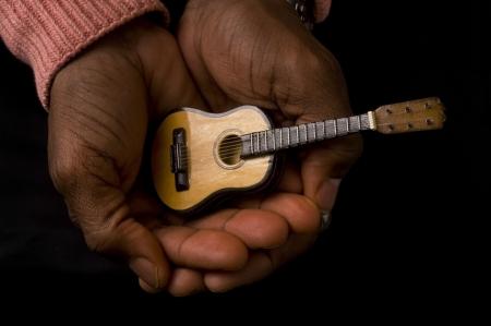 Guitar Man. Stock Photo - 18683843