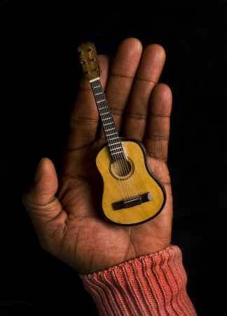 Guitar Man. Stock Photo - 18683894