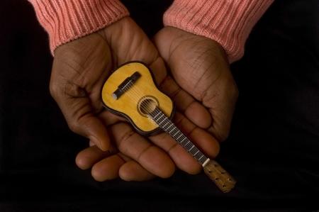 Guitar Man. Stock Photo - 18683841