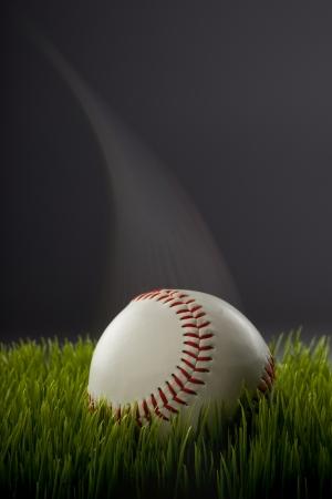 Baseball With Speed Streak Stock Photo - 18819159