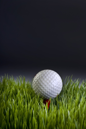 Golf ball With Room for your Type  Stock Photo