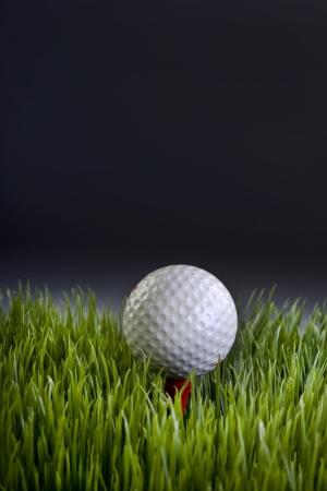Pallina da golf con camera per il tipo Archivio Fotografico