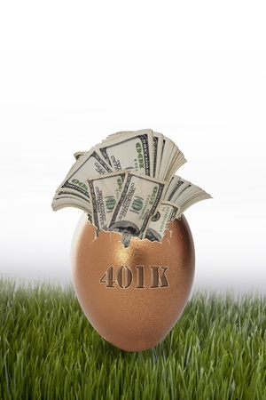 401K Golden Egg  photo