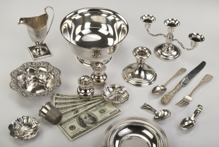 Scrap Silver Time to Sell. Stock Photo - 19331017