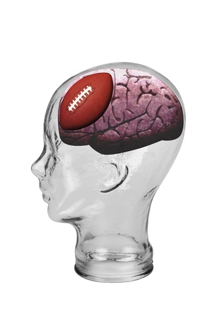 Football Brain  Stock Photo - 19668767