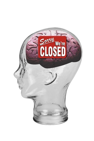 Closed Brain Stock Photo - 19668702