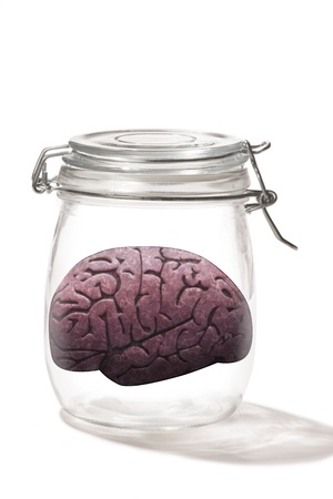 Brain in a jar  Stock Photo - 19685974