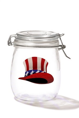 sam: Uncle Sam Hat in a Jar