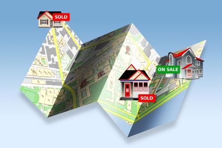 Homes Sold  Stock Photo - 19668813