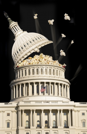 u s a: US Capital Building Popping it Top Off