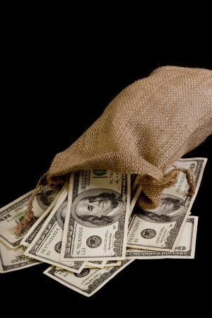 Money Bag  Stock Photo - 20073771
