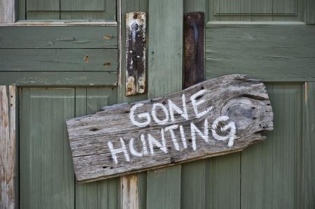 なくなっている狩猟 写真素材
