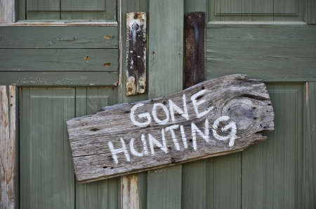 Gone Hunting  photo
