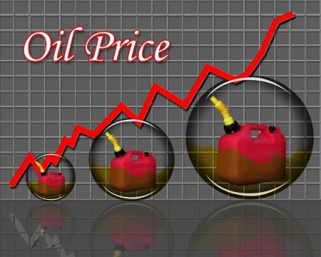petrol can: Oil Price