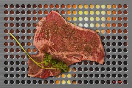 tbone: T-Bone Steak on the Grill
