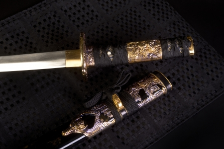Japanese Samurai Sword  Stock Photo - 21620009