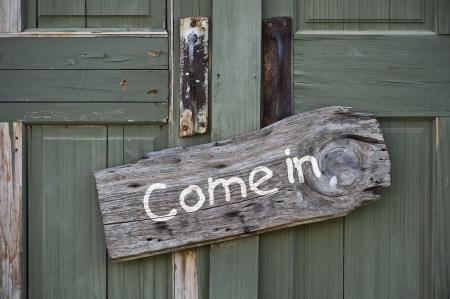 come in: Come In