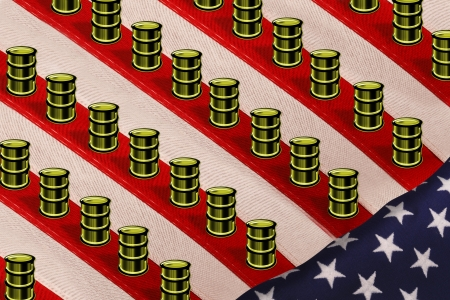 Oil Production in America Stock Photo - 21845199
