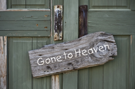 pearly gates: Gone to Heaven