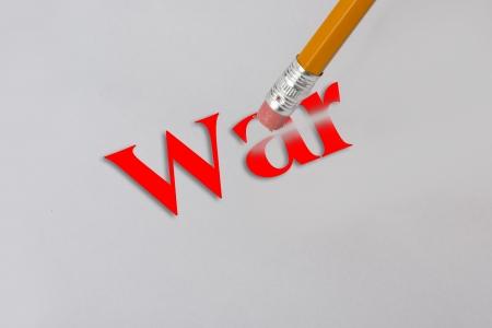 Erase all wars  Stock Photo - 22973558