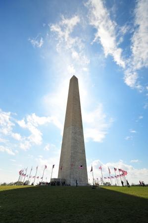 Washington Monument on the DC  Mall Stock Photo - 22973636