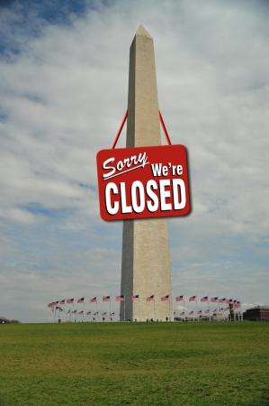 obama: Washington Monument Closed