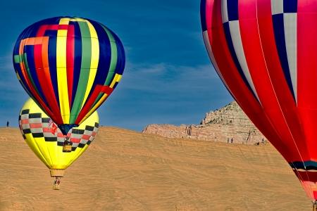 Hot air balloons Stock Photo - 24540348