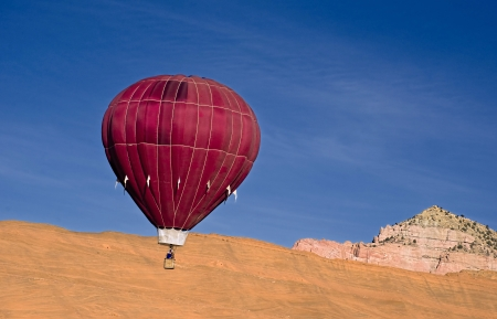 Hot air balloon Stock Photo - 24540353