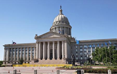 oklahoma city: Oklahoma capital building located in Oklahoma,City.