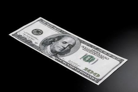 Hundred dollar bill known as a Benjamin.
