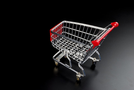 Shopping cart with room for your type.