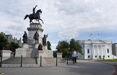 Virgina State Capital gebouw in Richmond, Virginia.