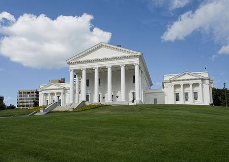 Virgina State Capital building in Richmond, Virginia.