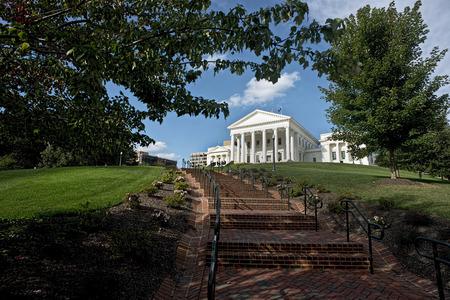 バージニア州の首都リッチモンド、バージニア州の建物します。