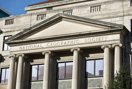 Washington, DC- Oct. 2014  National Geographic Societys Administration building  built in 1932. Editorial