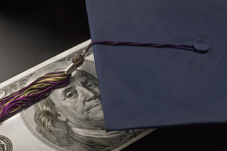 High cost of college education.