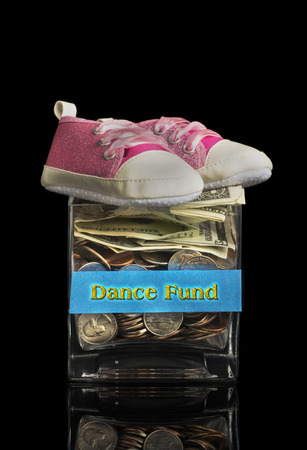 Dance fund jar for your little girl.