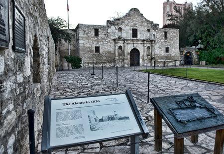 antonio: The Alamo in down town San Antonio ,Texas. Editorial