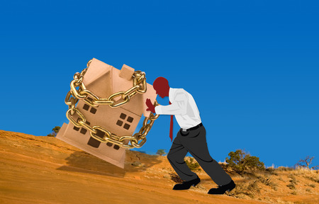uphill: Pushing your chained home ownership uphill.