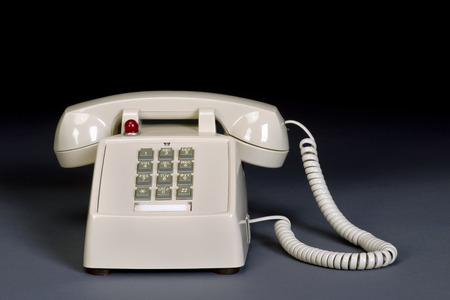 Call me with this hot line touth pad telephone.
