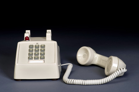 dial pad: Call me on the telephone with room for your type.