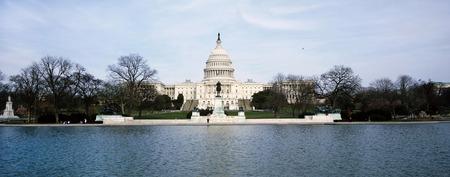 Edificio de capital estadounidense en Washington, DC.